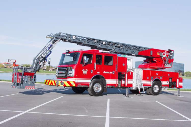 Custom Built Aerial Fire Apparatus