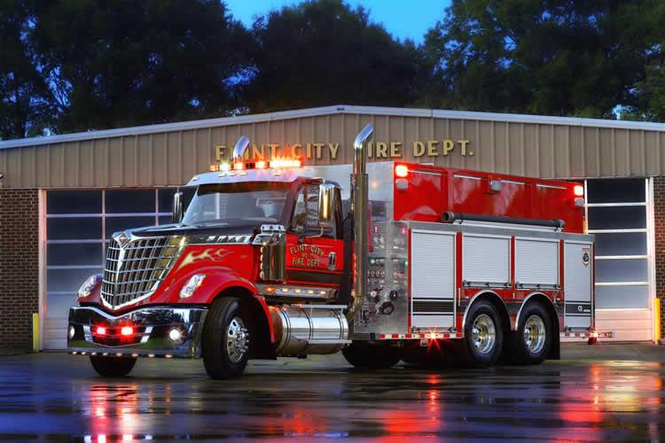 Custom Built Tankers Fire Apparatus