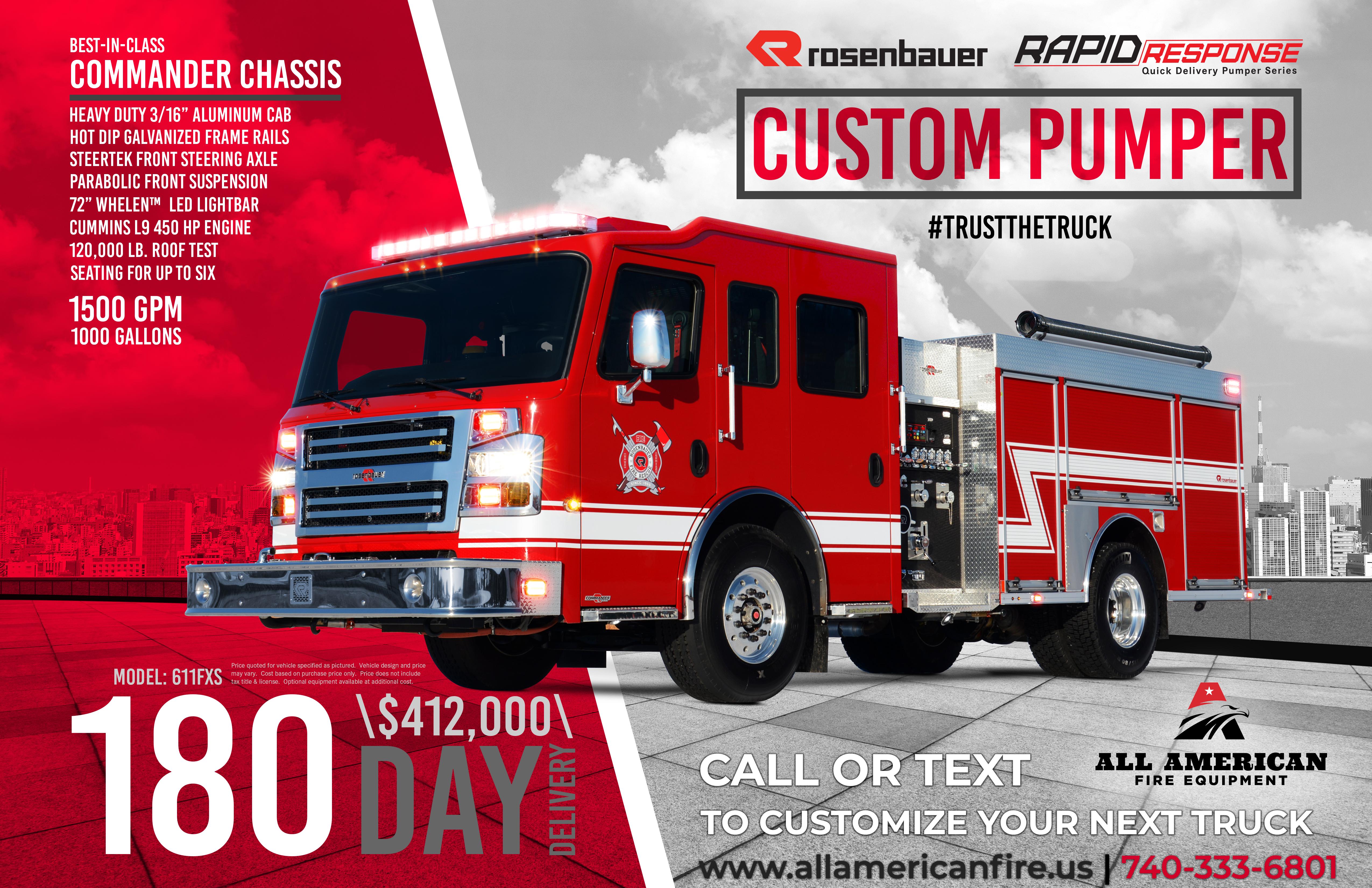 Rosenbauer - Rapid Response, Pumper
