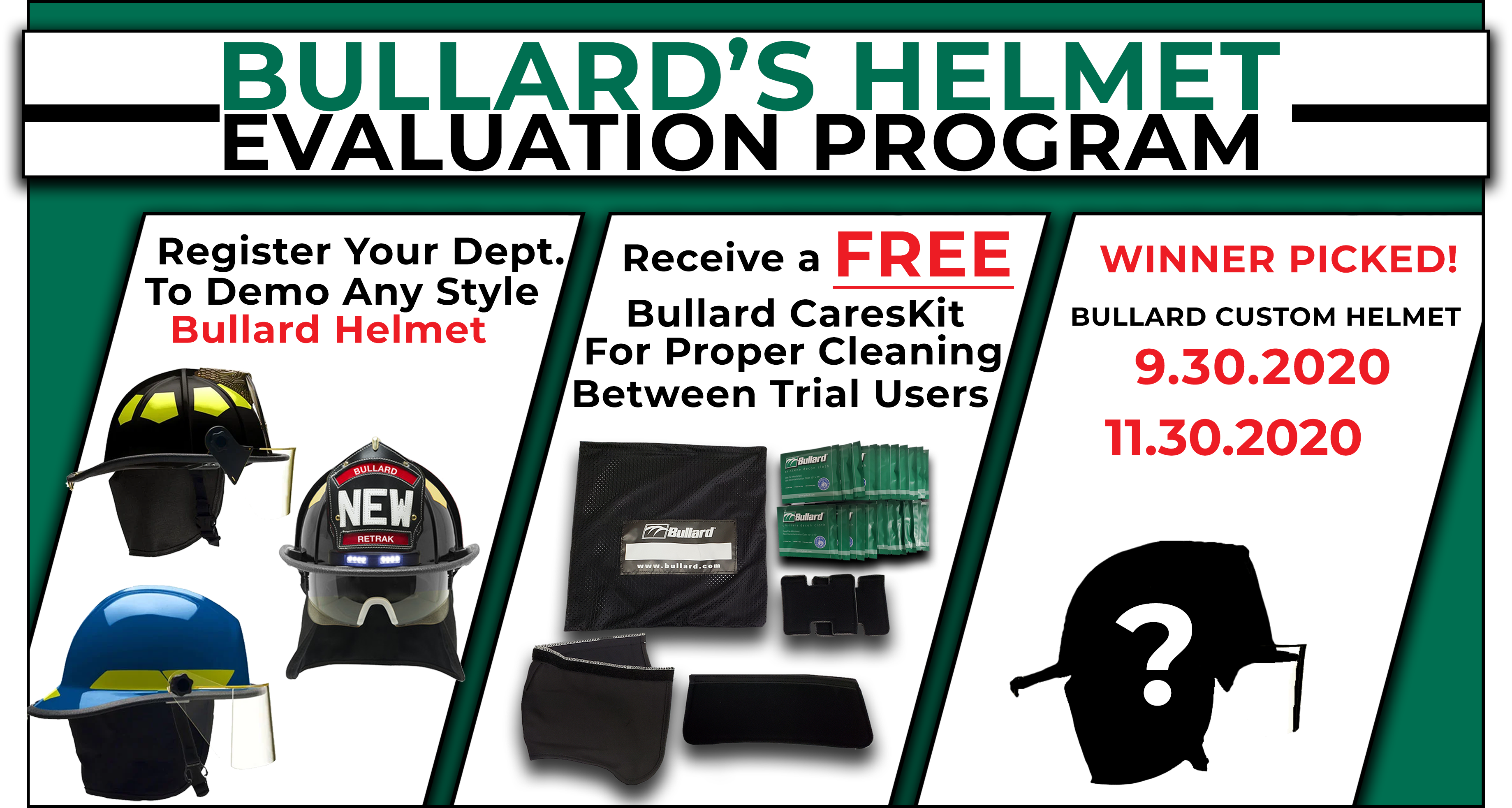 Bullard Helmet Evaluation Program